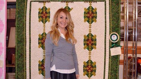 Заставка для - История  рукодельницы Валентины:  как стать  дизайнером  по текстилю и открыть свою мастерскую